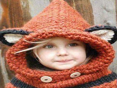Gorros em tricot