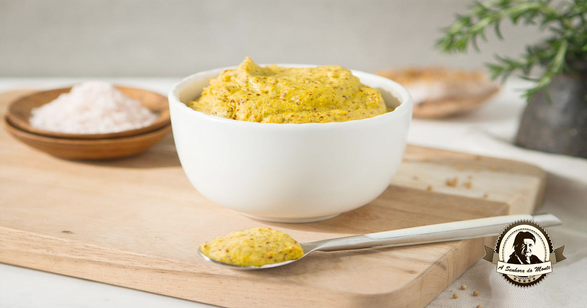Receita de mostarda caseira