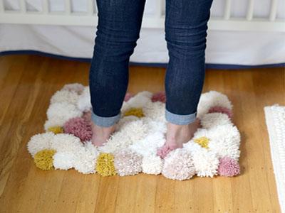 Aprenda a fazer tapetes de lã facéis e baratos
