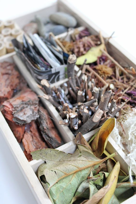 Hotel de Insectos - um elemento a considerar na horta biológica