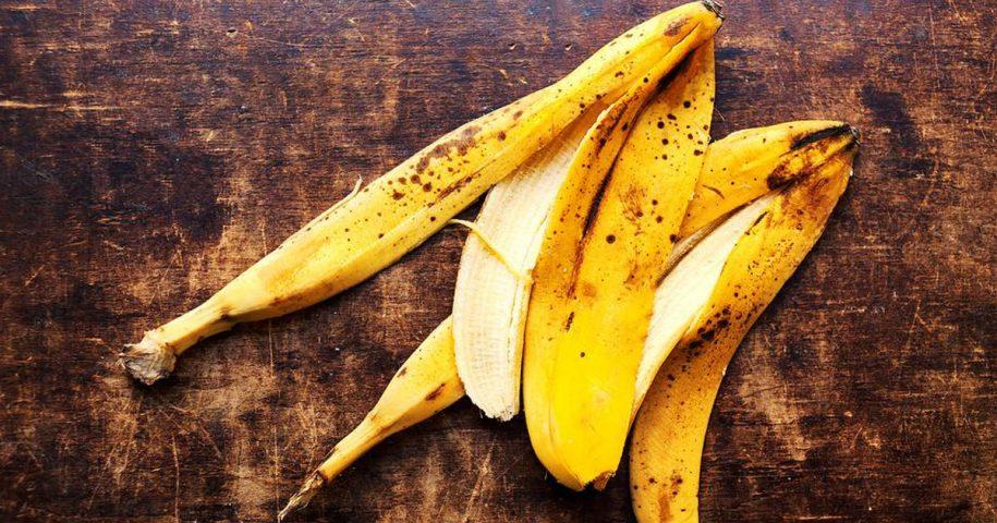 Adubo orgânico feito a partir de cascas de banana