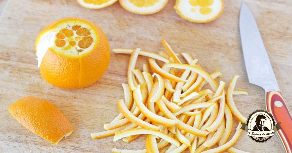 As cascas de laranja podem ter diversas finalidades - saiba quais!