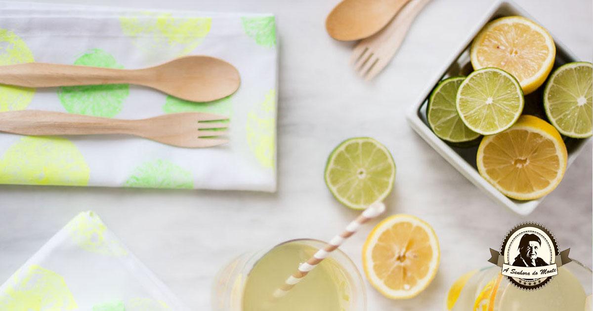 Aprenda a fazer guardanapos impressos com citrinos