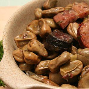 Favas com chouriço - Um prato típico português!