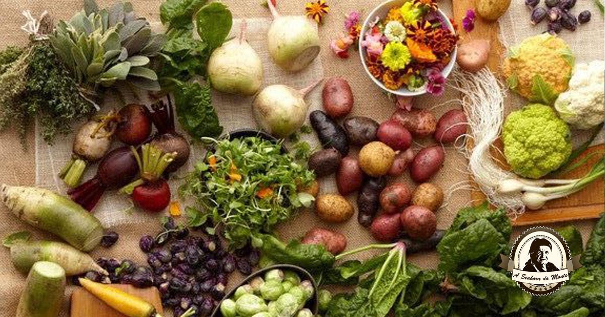 Sabe que frutas e legumes deve comer no mês de Abril?
