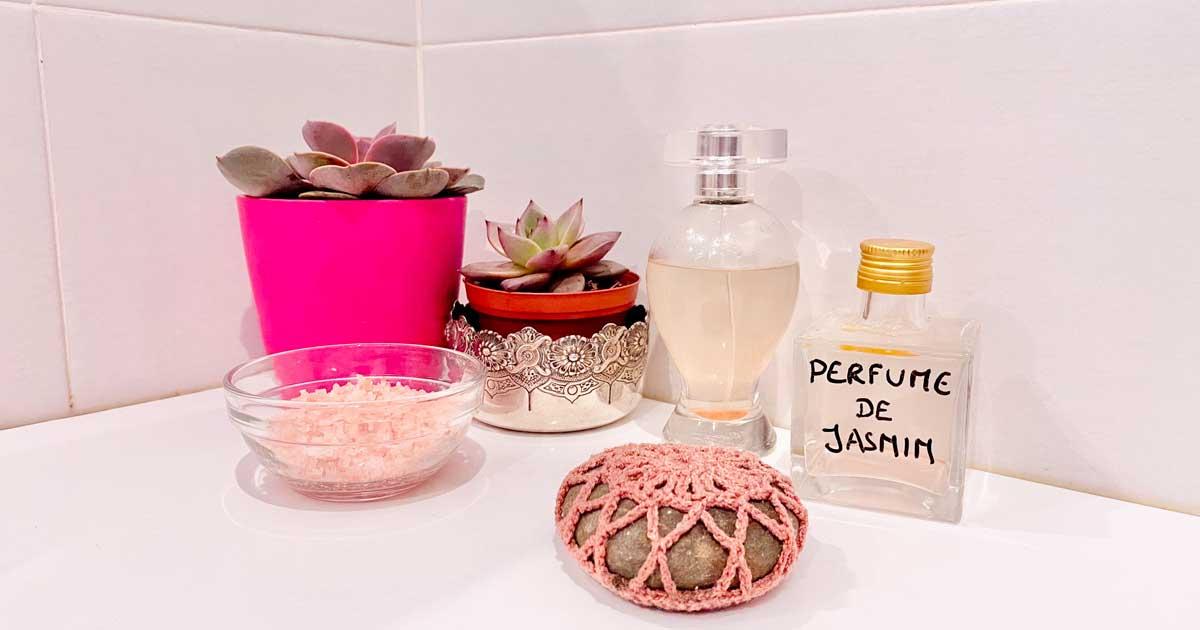 Perfume de Primavera feito com sal dos Himalaias