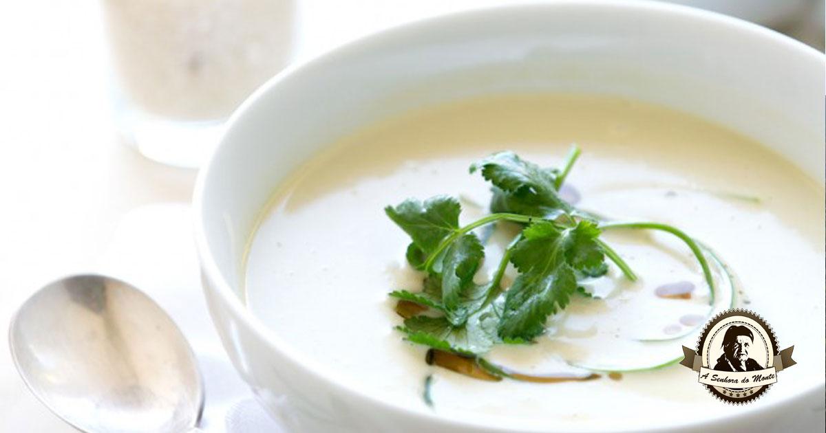 Gosta de caldo de alho francês? Aprenda a receita!