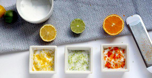 Aprenda a fazer sal aromatizado com citrinos