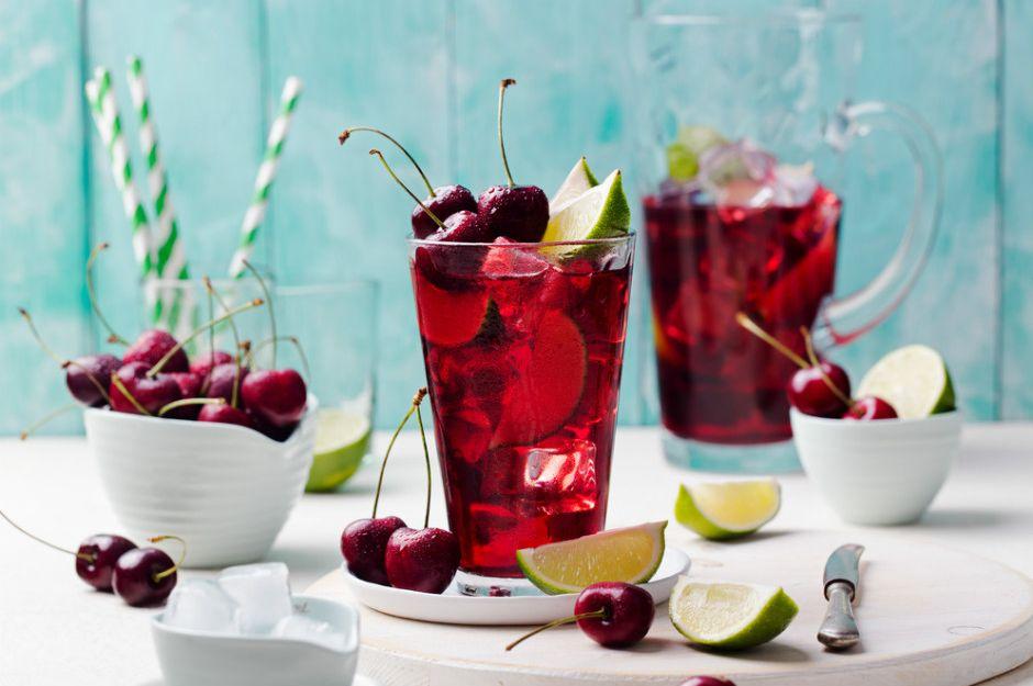 Gosta de cerejas? E que tal uma limonada de cereja?