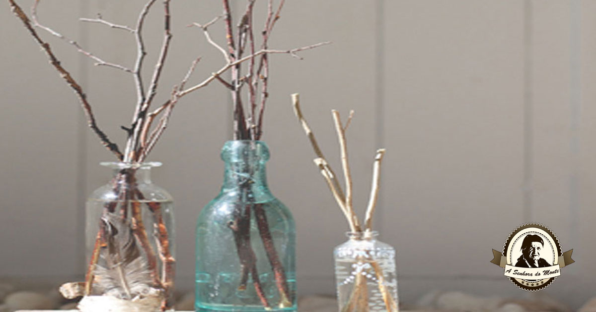 Perfume a sua casa com este difusor artesanal de óleos essenciais