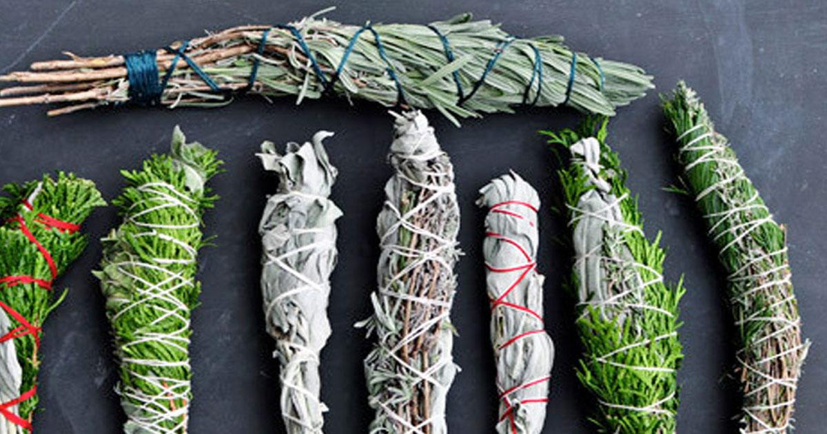 Como fazer incenso natural com ervas aromáticas!
