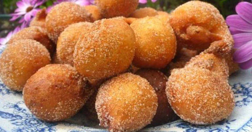 Sonhos de abóbora Paleo sem açúcar refinado nem trigo
