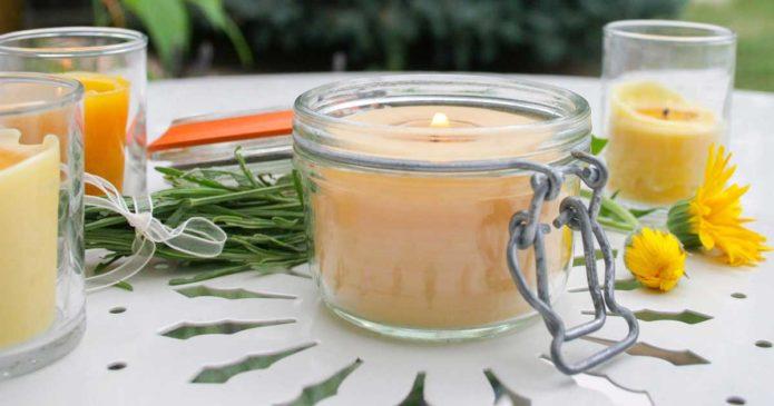 Aprenda a fazer velas de citronela para espantar os mosquitos!