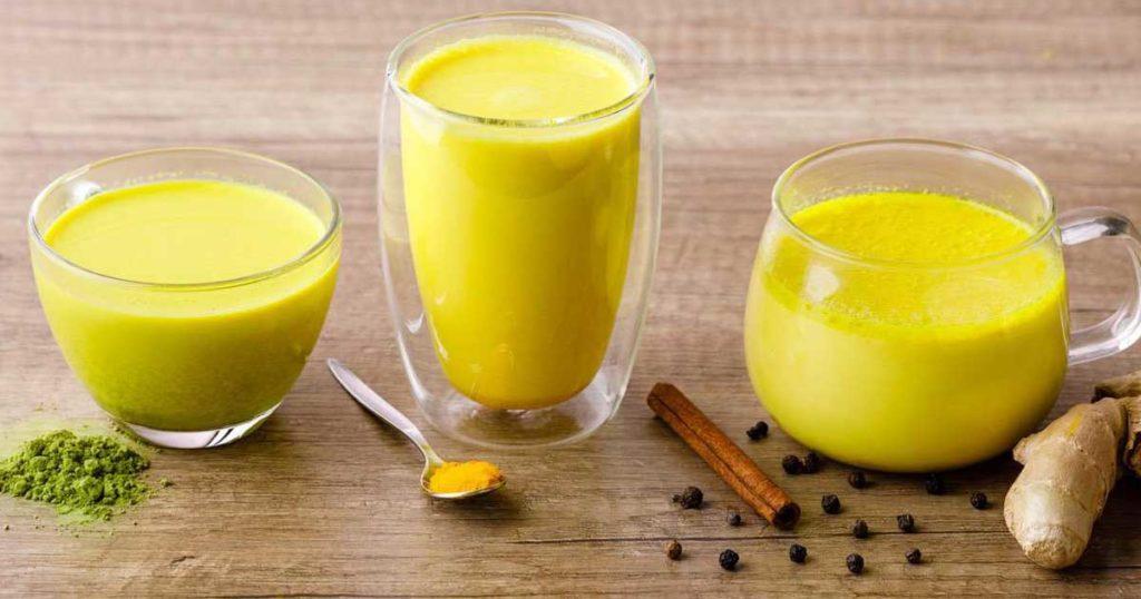 """""""Golden milk"""" - Aprenda 3 receitas de leite dourado"""