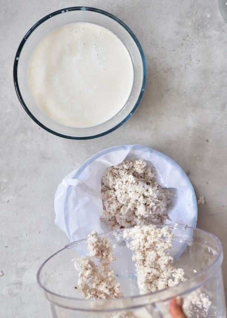 Aprende a fazer leite de coco caseiro (bebida vegetal)