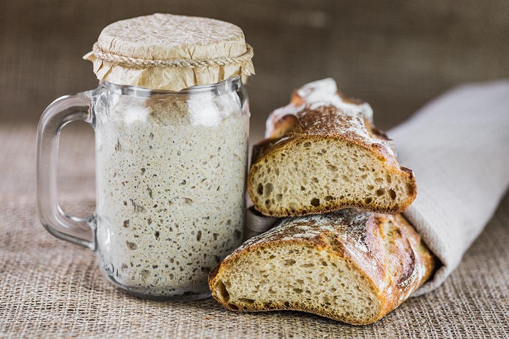 Aprende a fazer fermento caseiro e natural para fazer pão