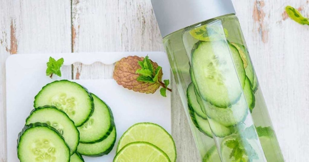 Conhecem os benefícios da água de pepino?
