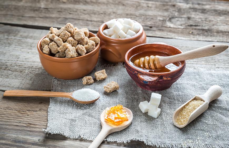 Alternativas saudáveis  e naturais para o açúcar e adoçante