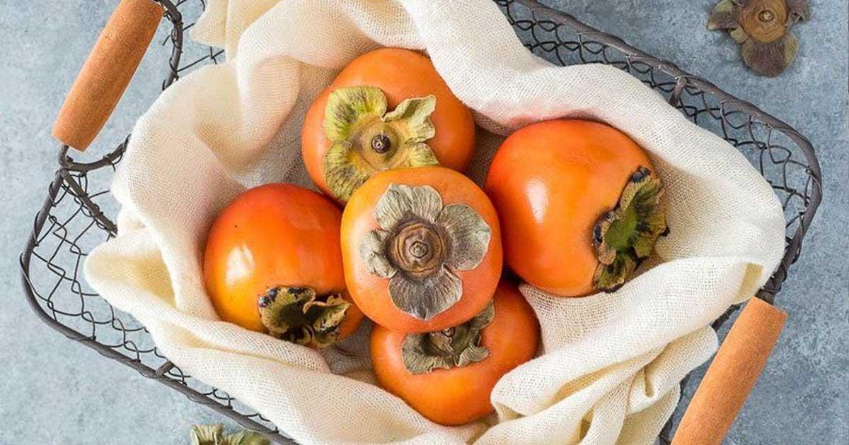 Dióspiros - Conheça os benefícios deste fruto de Outono