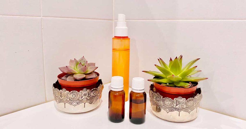 Aprenda a fazer um spray ambientador para a casa-de-banho
