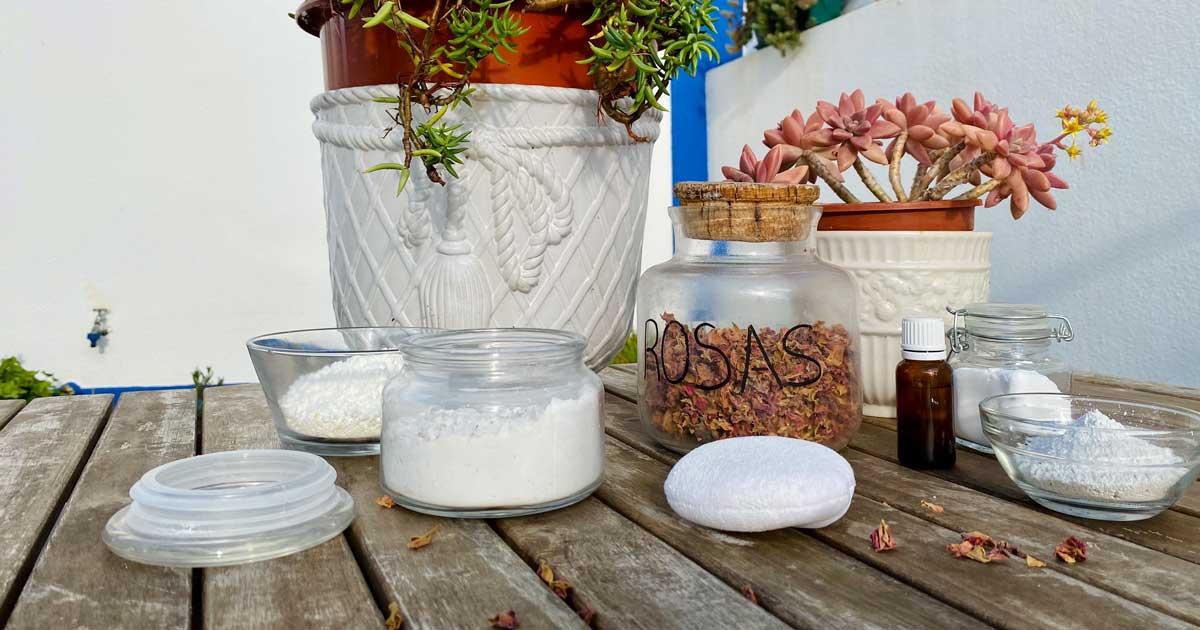 Aprenda a fazer pó perfumado para o corpo e deixe de usar pó de talco!