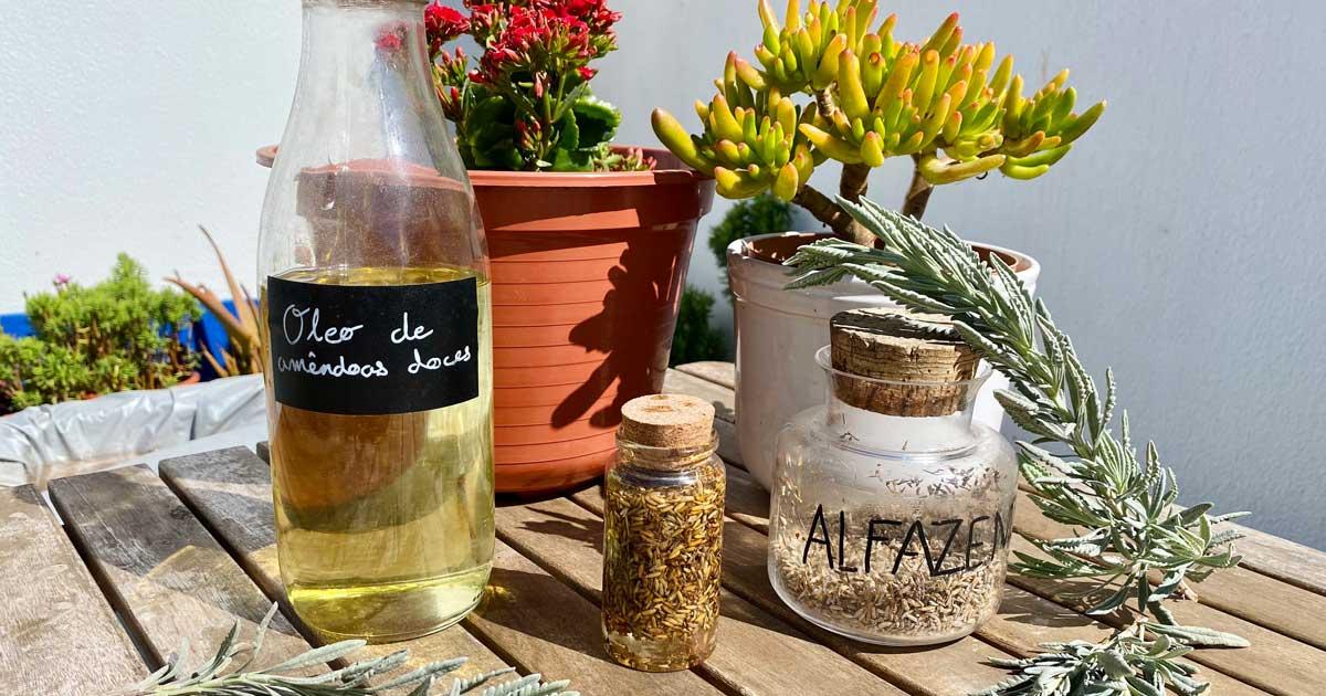 Aprende a fazer óleo de alfazema para tratamentos naturais