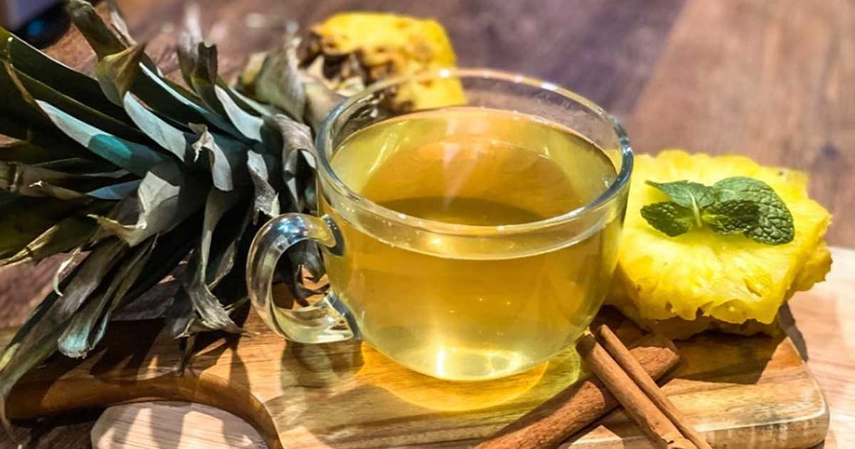 Aprenda quais são os benefícios do chá de cascas e folhas de ananás